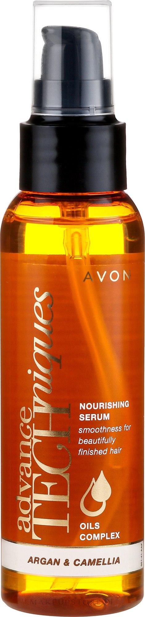 Haarelixier mit Arganöl und Kamelie - Avon Advance Techniques Nourishing Serum — Bild 100 ml