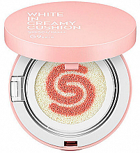 Düfte, Parfümerie und Kosmetik Aufhellende Cushion Base LSF 50 - G9Skin White in Creamy Cushion