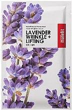Düfte, Parfümerie und Kosmetik Antifalten Liftingmaske für das Gesicht mit Lavendelextrakt - Manefit Beauty Planner Lavander Wrinkle + Lifting