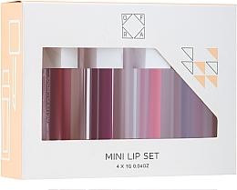 Düfte, Parfümerie und Kosmetik Lippenpflegeset (Flüssiger Lippenstift 4x1g) - Ofra To: Me Mini Liquid Lipstick Set