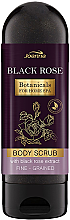 Düfte, Parfümerie und Kosmetik Körperpeeling mit Schwarzrosenextrakt - Joanna Botanicals Regenerating Body Scrub With Black Rose Extract
