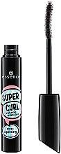 Düfte, Parfümerie und Kosmetik Mascara für geschwungene und voluminöse Wimpern - Essence Super Curl Volume Mascara Eye Opening