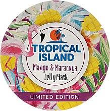 Düfte, Parfümerie und Kosmetik Gelee-Maske für das Gesicht mit Mango und Maracuja - Marion Tropical Island Mango & Maracuya Jelly Mask
