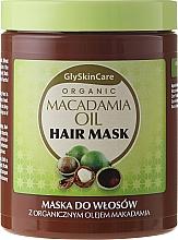 Düfte, Parfümerie und Kosmetik Haarmaske mit Bio Macadamiaöl - GlySkinCare Macadamia Oil Hair Mask