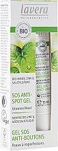 Düfte, Parfümerie und Kosmetik Anti-Pickel Gesichtsgel für unreine Haut mit Bio-Minze - Lavera SOS Spot Gel