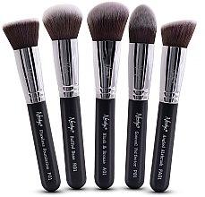 Düfte, Parfümerie und Kosmetik Make-up Pinselset 5-tlg. - Nanshy Face Brush Set Black