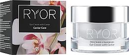 Düfte, Parfümerie und Kosmetik Feuchtigkeitsspendende Anti-Aging Creme für die Augenpartie mit Kaviar - Ryor Eye Cream With Caviar Extract