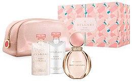 Düfte, Parfümerie und Kosmetik Bvlgari Rose Goldea - Duftset (Eau de Parfum 90ml + Körperlotion 75ml + Duschgel 75ml + Kosmetiktasche)