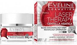 Düfte, Parfümerie und Kosmetik Kräftigende Aufbaucreme gegen Falten 50+ - Eveline Cosmetics Laser Therapy Centella Asiatica 50+