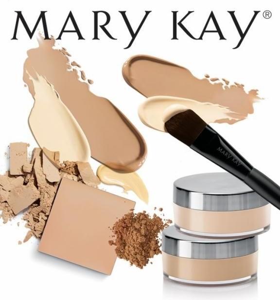 Mineralpudergrundierung - Mary Kay Mineral Powder Foundation — Bild N2
