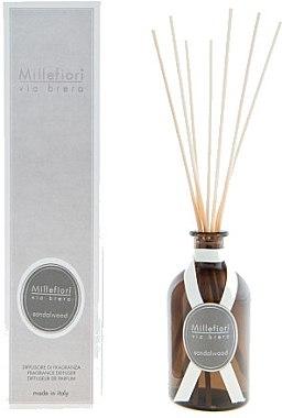 Raumerfrischer Sandalwood - Millefiori Via Brera Diffuser Sandalwood Fragrance Diffuser — Bild N1