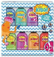 Düfte, Parfümerie und Kosmetik Badeset für Kinder - Baylis & Harding Kids 7 Day Bubble Bath Set (7xSchaumbad 50ml)