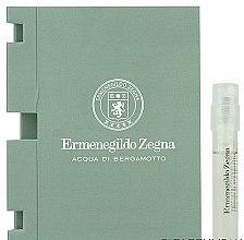 Düfte, Parfümerie und Kosmetik Ermenegildo Zegna Acqua di Bergamotto - Eau de Toilette (Probe)