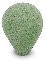 Düfte, Parfümerie und Kosmetik Konjac-Schwamm für das Gesicht mit grünem Tee, tropfen - Bebevisa Konjac Sponge