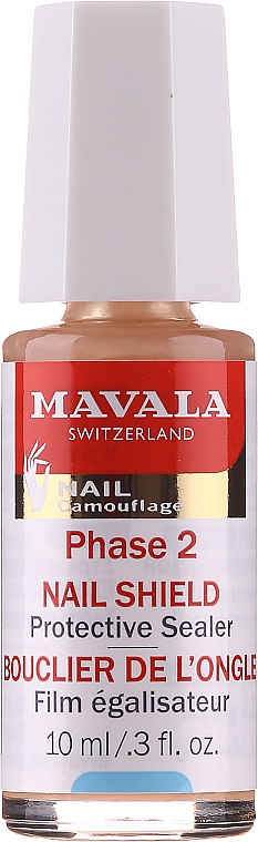 Nagelpflege in zwei Phasen - Mavala Nail Shield (Faserbasis + Schutzschild) — Bild N2