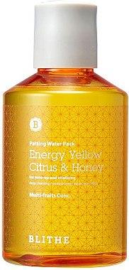 Wohltuende Gesichtsmaske mit Milchsäure und Fruchtextrakten - Blithe Energy Yellow Citrus and Honey Patting Splash Mask — Bild N1