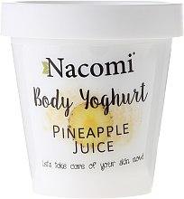Düfte, Parfümerie und Kosmetik Körperjoghurt mit Ananassaft - Nacomi Body Jogurt
