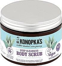 Düfte, Parfümerie und Kosmetik Tiefenreinigendes Körperscrub - Dr. Konopka's Deep Cleansing Body Scrub