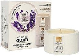 Düfte, Parfümerie und Kosmetik Soja-Duftkerze Virgin Lavender - House of Glam Raw White Collection Virgin Lavender Candle
