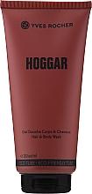 Düfte, Parfümerie und Kosmetik Yves Rocher Hoggar - 2in1 Shampoo und Duschgel mit holzigem orientalischem Duft