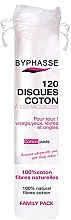 Düfte, Parfümerie und Kosmetik Kosmetische Wattepads 120 St. - Byphasse Cotton Pads