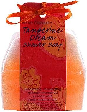 Handgemachte Naturseife Exotic Tangerine - Bomb Cosmetics Tangerine Dream Shower Soap — Bild N1