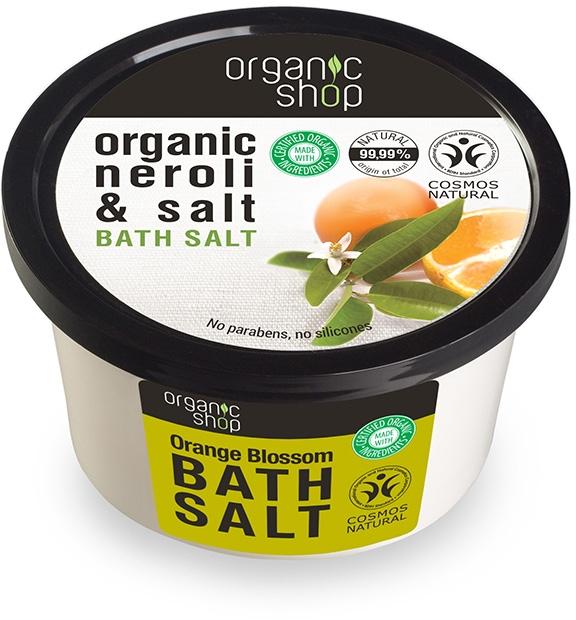 Badesalz mit Bio Neroli Extrakt - Organic Shop Baths Salt Organic Neroli & Salt — Bild N1