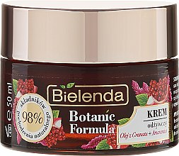 Pflegende Gesichtscreme - Bielenda Botanic Formula Pomegranate Oil + Amaranth Nourishing Cream Day/Night — Bild N2