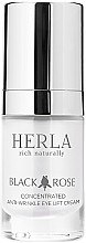 Düfte, Parfümerie und Kosmetik Konzentrierte Anti-Falten Augencreme - Herla Black Rose Concentrated Anti-Wrinkle Eye Lift Cream