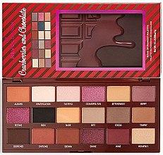 Lidschattenpalette - I Heart Revolution Cranberries & Chocolate Palette — Bild N2
