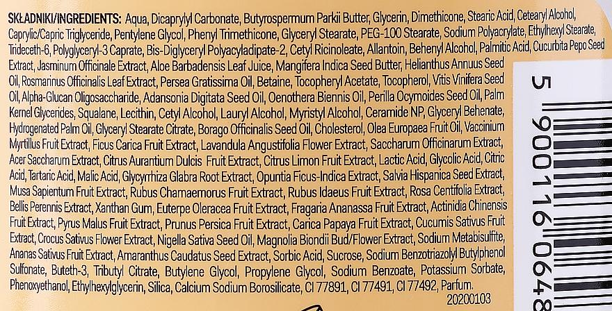 Belebende und glättende Körperbutter mit Kürbis und Jasmin - AA Super Fruits & Herbs Body Butter — Bild N3