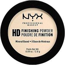 Düfte, Parfümerie und Kosmetik NYX High Definition Finishing Powder - Gesichtspuder (Mini)