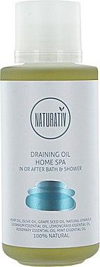 Entwässerndes Massageöl - Naturativ Draining Oil Home Spa — Bild N1