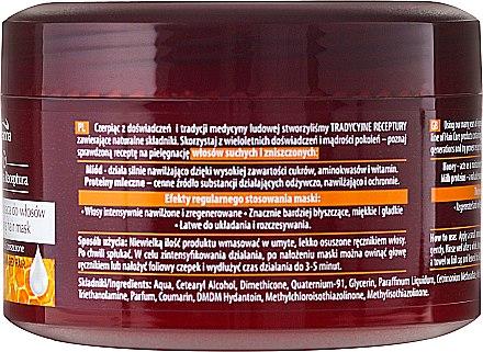Regenerierende Haarmaske - Joanna Honey Milk Proteins Regenerating Hair Mask — Bild N3