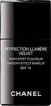 Düfte, Parfümerie und Kosmetik Foundation mit Weichzeichnereffekt LSF 15 - Chanel Perfection Lumiere Velvet Smooth-Effect Makeup SPF 15