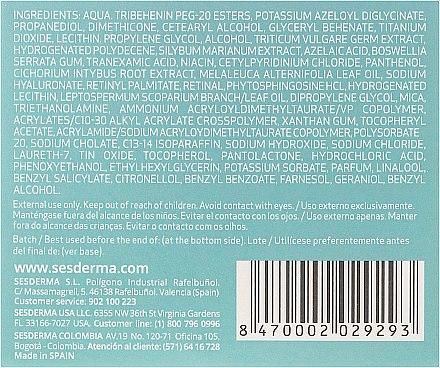 Feuchtigkeitsspendende Gesichtscreme - SesDerma Laboratories Azelac Moisturizing Cream — Bild N3