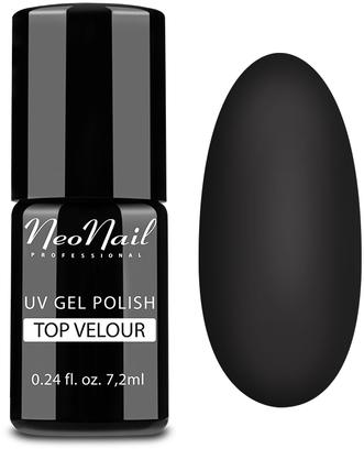 UV Überlack mit Matt-Effekt - NeoNail Professional Top Matte Velour Uv Gel Polish