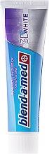 Zahnpasta 3D White 2 St. - Blend-a-med 3D White Whitening Toothpaste (Zahnpasta 2x100ml) — Bild N2