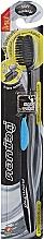 Düfte, Parfümerie und Kosmetik Antibakterielle Zahnbürste mit Aktivkohle blau - Twin Lotus Bamboo Charcoal Toothbrush