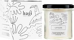Düfte, Parfümerie und Kosmetik Soja-Duftkerze Beach - Hagi La Playa Soy Candle