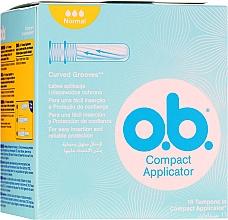 Düfte, Parfümerie und Kosmetik Tampons Compact Applicator Normal 16 St. - O.b. Compact Applicator Normal Tampons
