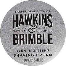 Düfte, Parfümerie und Kosmetik Rasiercreme - Hawkins & Brimble Elemi & Ginseng Shaving Cream