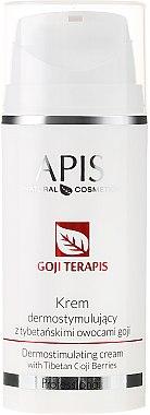 Dermostimulierende Gesichts-,Hals- und Dekolletécreme mit Goji Beeren aus Tibet - APIS Professional Goji terApis Dermostimulating Cream — Bild N1