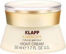 Reichhaltige Nachtcreme mit Aloe Vera und Jojobaöl - Klapp Kiwicha Night Cream — Bild N2