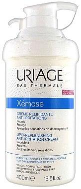 Pflegende und schützende Lipid-Gesichtscreme für empfindliche und atopische Haut - Uriage Xemose Lipid Replenishing Anti-Irritation Cream — Bild N2