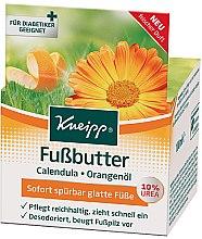 Düfte, Parfümerie und Kosmetik Körperbutter mit Ringelblume und Orangenöl - Kneipp Foot Repair Butter Calendula & Orange