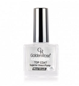 Glänzender Nagelüberlack mit Gel-Effekt - Golden Rose Top Coat Gel Look — Bild N1