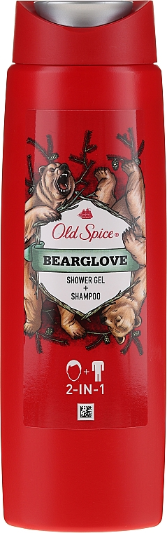 2in1 Shampoo & Duschgel - Old Spice Bearglove Shower Gel + Shampoo