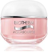 Düfte, Parfümerie und Kosmetik Feuchtigkeitscreme für trockene Haut - Biotherm Aquasource 24h Deep Hydration Replenishing Cream