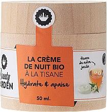 Düfte, Parfümerie und Kosmetik Feuchtigkeitsspendende und beruhigende Nachtcreme mit Kürbisextrakt - Beauty Garden Night Cream